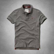Abercrombie & Fitch Polo šedá
