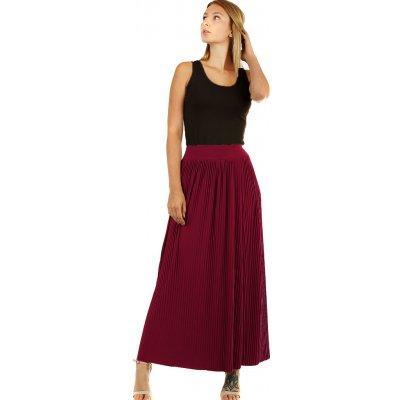 Glara Maxi sukně dámská plisovaná 5948