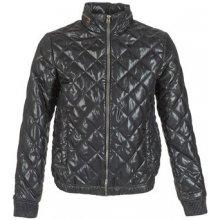 G-Star Raw prošívaná bunda MEEFIC QUILTED OVERSHIRT černá