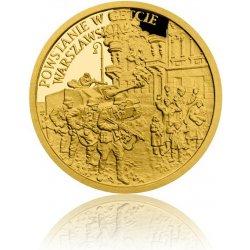 Česká mincovna Zlatá mince Válečný rok 1943 Povstání ve varšavském ghettu proof 3,11 g