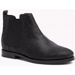 e9ffda3a43b Tommy Hilfiger kotníkové boty s elastickým prvkem černé alternativy ...