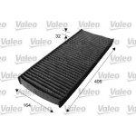 Kabinový filtr Valeo s aktivním uhlím pro Citroen C8 (6447LZ, 6479E5, 647942)