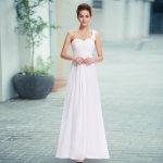 Bílé dlouhé svatební společenské šaty - Vyhledávání na Heureka.cz 029ad9b514