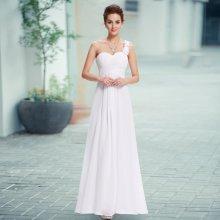 4f663281de3e Dlouhé svatební šaty na rameno i pro těhotné bílá