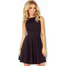 Numoco společenské a plesové exkluzivní šaty s kolovou sukní krátké černá 3dec568277
