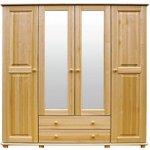 AMI nábytek - šatní skříň Emma 80x190x60 cm