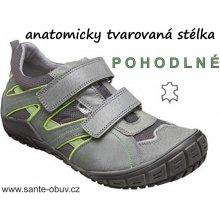 Santé zdravotní obuv dětská N 401 11 P16 šedá 6abb65f204