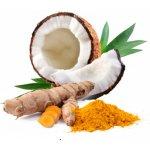 Puritas Kokosový olej ochucený kurkuma 500 ml