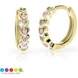 Cutie Jewellery zlaté náušnice kroužky C3339 od 3 250 Kč - Heureka.cz da279053ef2