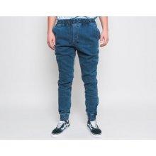 Diamante Wear Jogger jeans Marble blue černá