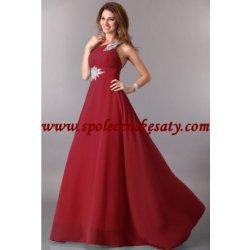 Specifikace Luxusni Spolecenske Cervene Dlouhe Sifonove Svatebni