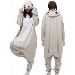 3c24e317040 Karnevalový kostým TULEŇ originální kigurumi pyžamo overal