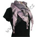 Arafat Arabský šátek světle růžový ded78fb3d3
