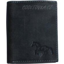 Pánská kožená peněženka HL-236 šedá