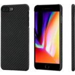 Pouzdro PITAKA Aramid case Apple iPhone 8+/7+ černé/šedé