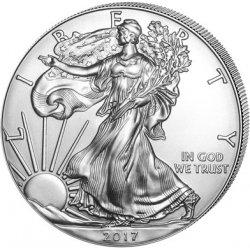 Eagle Stříbrná investiční mince American 1 Oz
