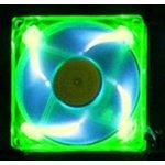 Aerocool AeroFans UV LED Green/Blue 80mm