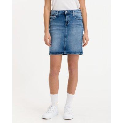 Tommy Jeans Classic Denim sukně dámské modrá