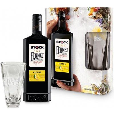 Fernet Stock Citrus 27% + 1x sklo GB 0,5 l