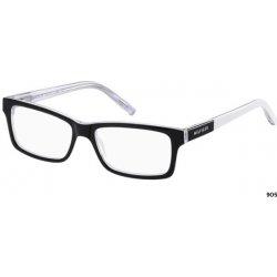 f50d017e0 Dioptrické brýle Tommy Hilfiger TH 1132 905 - černá-bílá-krystalová ...
