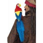 Pirátská sada papoušek elastický držák