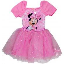 E plus M Dívčí šaty Minnie růžová