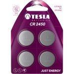 Baterie Tesla CR2450 4ks