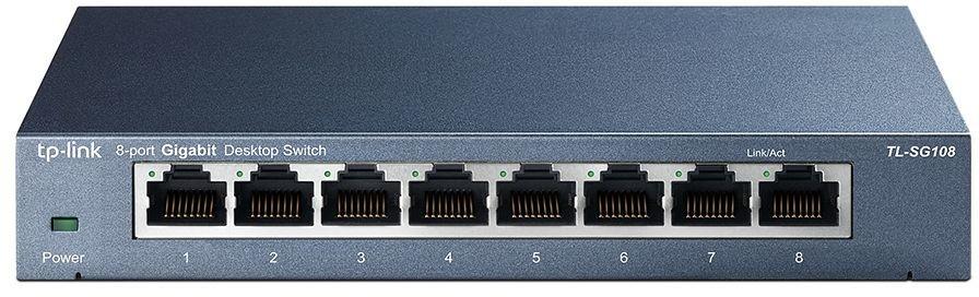 Recenze TP-LINK TL-SG108