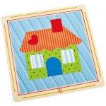 Hape kreativní sada domeček