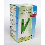 EasyTouch Proužky glukóza 50 ks