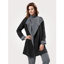 Pletený kabát MONA šedá 1e3ff4f3fa