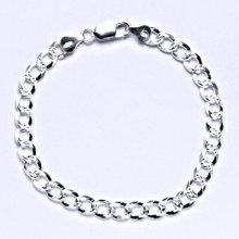 Čištín Stříbrný silný náramek ,1 5910