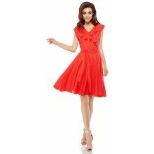 2e1619f52b90 Lemoniade letní zavinovací šaty L253 červená
