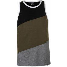 Tapout Muscle Vest Snr 22 Black/Khaki/Mar