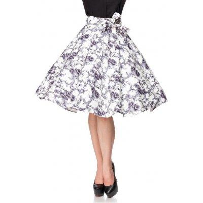 YooY.cz vintage kolová sukně s potiskem 423432