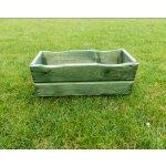 ROJAPLAST zahradní dřevěný TRUHLÍK 44cm - zelený