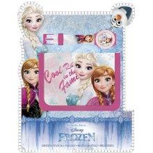 EUROSWAN Dárková sada peněženka a Ledové Království Cool 18x15 cm Polyester, PVC