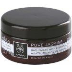 Apivita Pure Jasmine sůl do koupele s esenciálními oleji 250 g