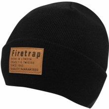 Firetrap OS Cuff Hat Sn81 Pirate Black ed143ac517