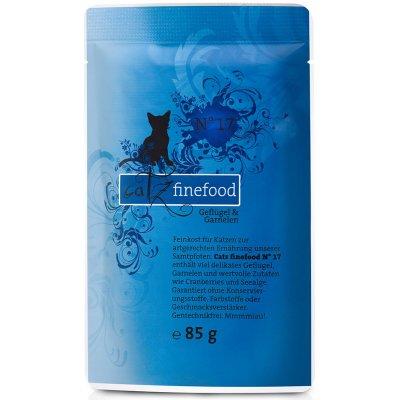 Catz finefood No. 17 drůbež a krevety 16 x 85 g