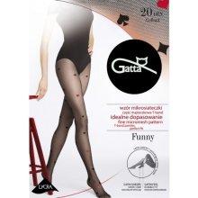 0a66f236742 Punčochové kalhoty Gatta Funny 09A 20 DEN černo-červené