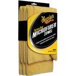 Meguiar's Supreme Shine Microfiber Towel mikrovláknová utěrka 40 cm x 60 cm 3 ks