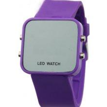 Zrcadlové LED Jelly MA fialové