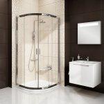 Sprchový kout RAVAK BLIX BLCP4 90 bílý + transparent