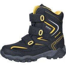 Alpine Pro Dairo dětská zimní obuv KBTH113990 černá