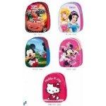 DISNEY bambilon batoh 30 cm Cars Princezny Mickey Mouse Minnie Hello Kitty 6 druhů