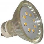 PremiumLED LED žárovka 1W 8xSMD2835 GU10 90lm studená bílá