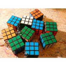 Přívěsek na klíče Funkční miniaturní Rubikova kostka