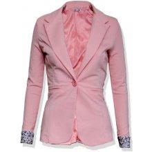 dámské sako na běžné nošení růžové