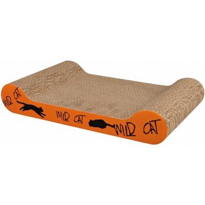 TRIXIE WILD CAT škrábací karton oranžový 41x7x24 cm